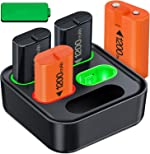 Rechargeable Battery for Xbox One/ Xbox Series X|S, 4x1200mAh Controller Battery