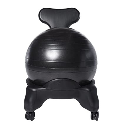 Ivation Balance Exercise Ball Chair