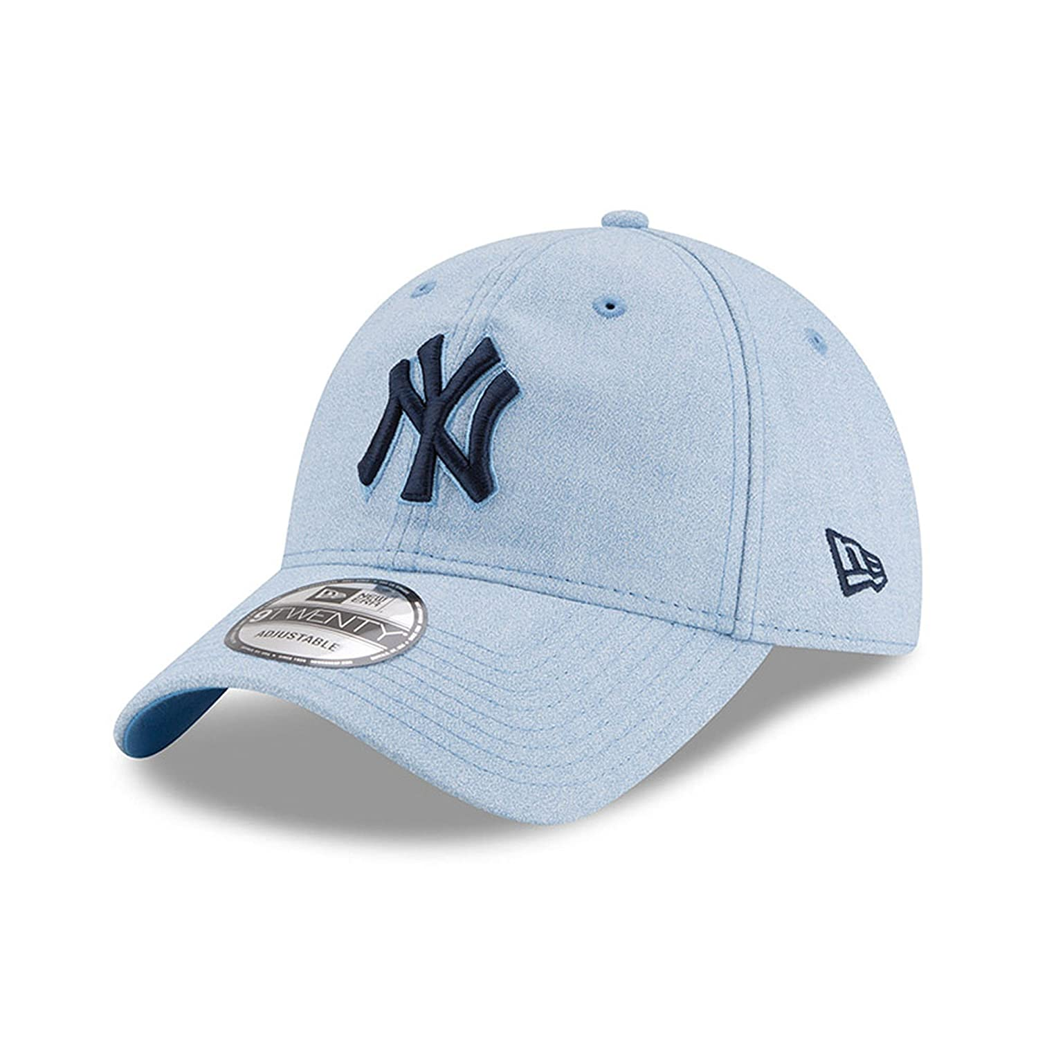 97a7e33c25ac7 Amazon.com   New Era New York Yankees 2018 Father s Day 9TWENTY Adjustable  Hat - Light Blue   Sports   Outdoors