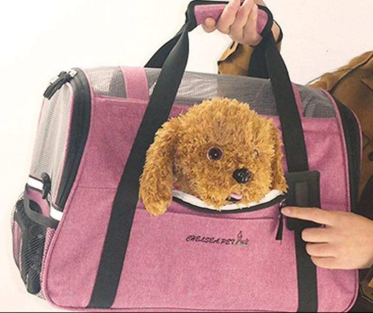 Weiwei Wei Zaino per Animali Portamonete Traspirante da Viaggio Viaggio Viaggio per Animali Domestici,rosa,46  26  28cm | Ad un prezzo accessibile  | Clienti In Primo Luogo  | Funzione speciale  | Prestazioni Affidabili  | Tocco confortevole  | Prima il cliente  a85718