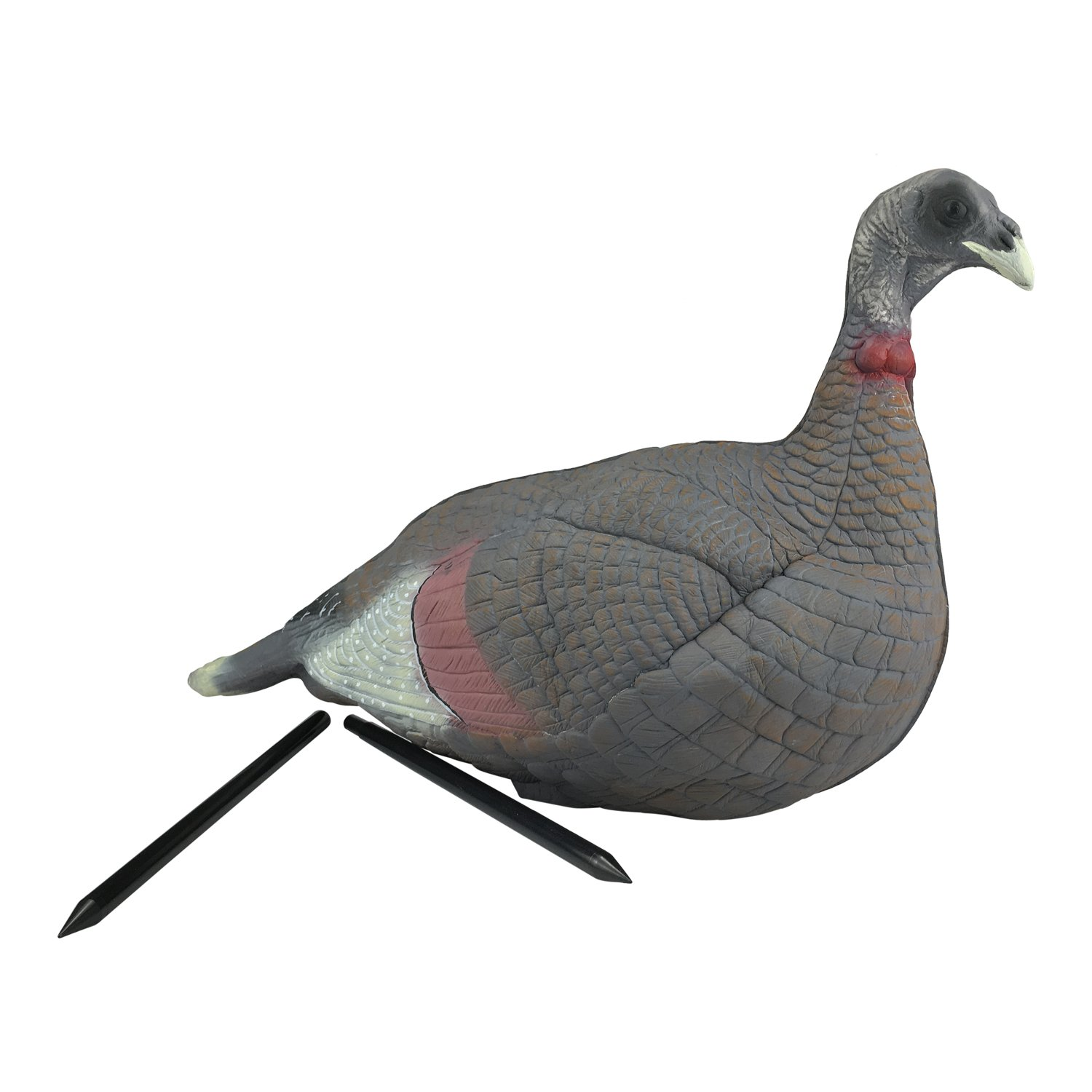 TOURBON Foldable Hunting Turkey Decoy with Stake by TOURBON (Image #1)
