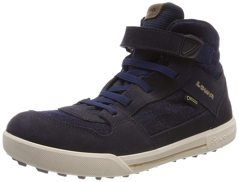 MultiCouleure (Jeans 0653) Lowa Mika II GTX, Chaussures d'escalade garçon 30 EU