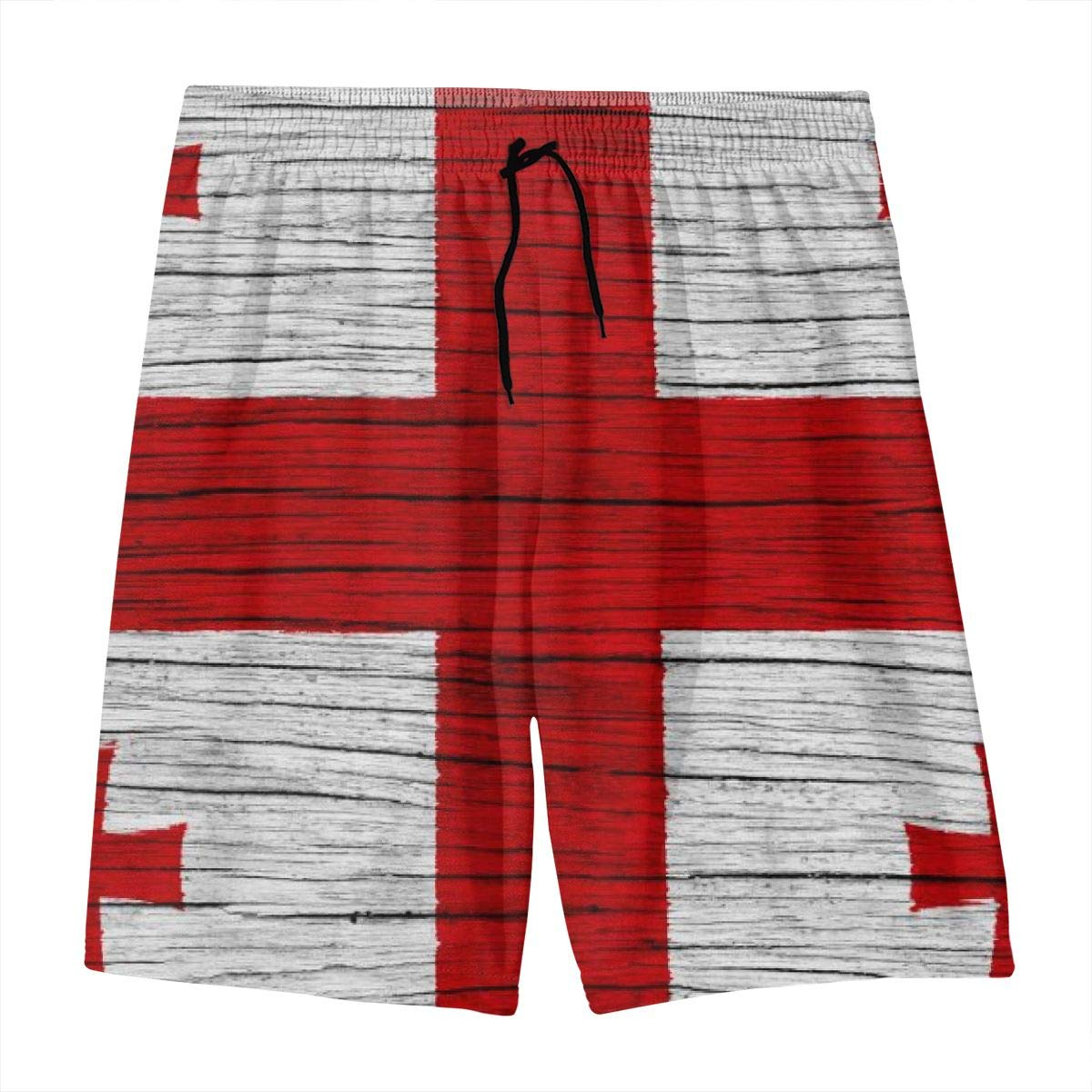 Mens Pants Armenian Flag Summer Swimming Trunks with Pockets Sport Trouser Quick Dry Water Sport Beach Shorts