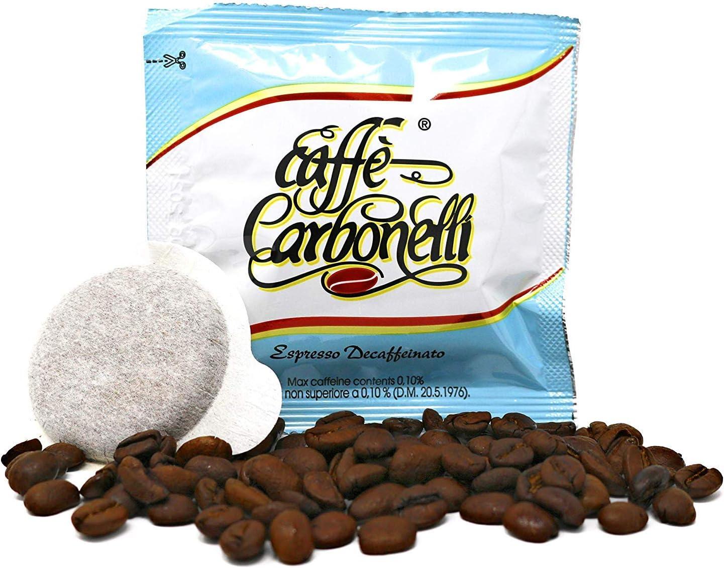 150 monodosis ESE Café carbonelli mezcla descafeinado: Amazon.es ...