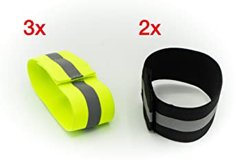 Sports & Entertainment Running Arm Warmers Night Reflective Safety Bracelet With Velcro Outdoor Sports Night Running Cycling Jogging Warning With Luminous Arm Band