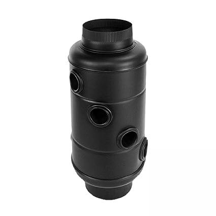Schindler + Hofmeister Muñeco 91004 humo Gas enfriador Senotherm 130 mm de color negro