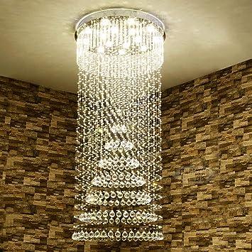 dxx Gbyzhmh la Escalera en espiral de iluminación de Crystal ...