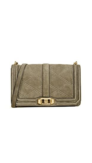 846dcc381b Rebecca Minkoff Women's Love Cross Body Bag, Olive, One Size: Amazon ...