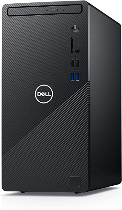 New Dell Inspiron 3880 with Wired Mouse and Keyboard Desktop (Black) Intel Core i3-10100 10th Gen, 8GB DDR4 RAM, 1TB HDD, Windows 10 Home
