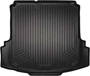 Black Husky Liners WeatherBeater Floor Mats 2012-2015 Volkswagen Jetta 2 Row
