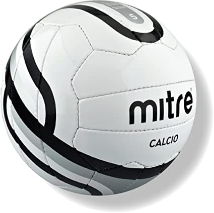 Mitre Calcio - Balón de fútbol para entrenamiento, color blanco ...