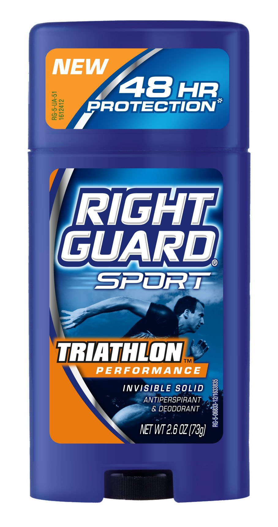 Right Guard Sport Solid Anti-Perspirant Deodorant, Cool, 2.6-Ounce Tubes (Pack of 6)