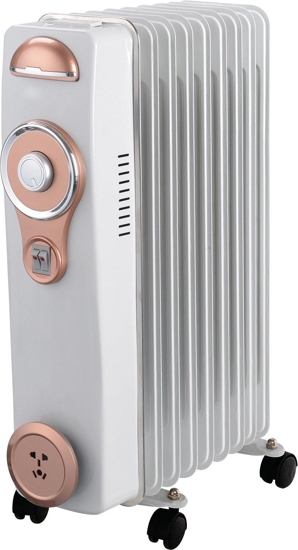 Alexa A6RA2000HB - Radiador de aceite con 9 elementos, 2000 W: Amazon.es: Hogar