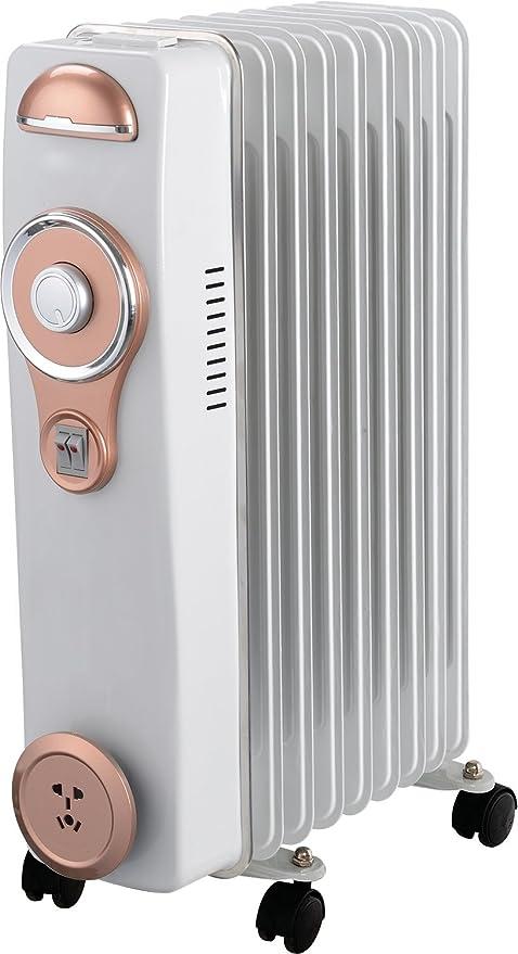 Alexa A6RA2000HB Radiador de Aceite con 9 Elementos, 2000 W, Gris