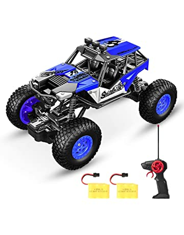 SPESXFUN Remote Control Car, Newest Vision RC Car Off Road RC Truck Hobby Toy Cars