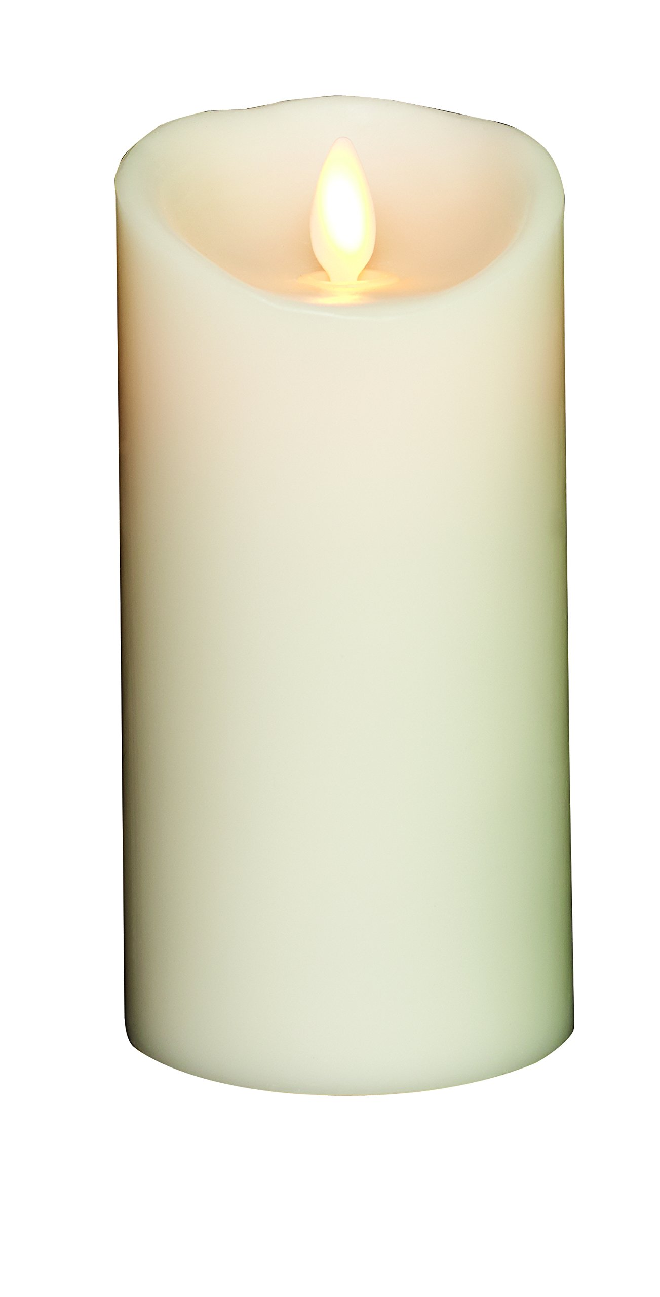 Bethlehem Lighting Torchier Wax Flameless Candle 3.5x7 Ivory