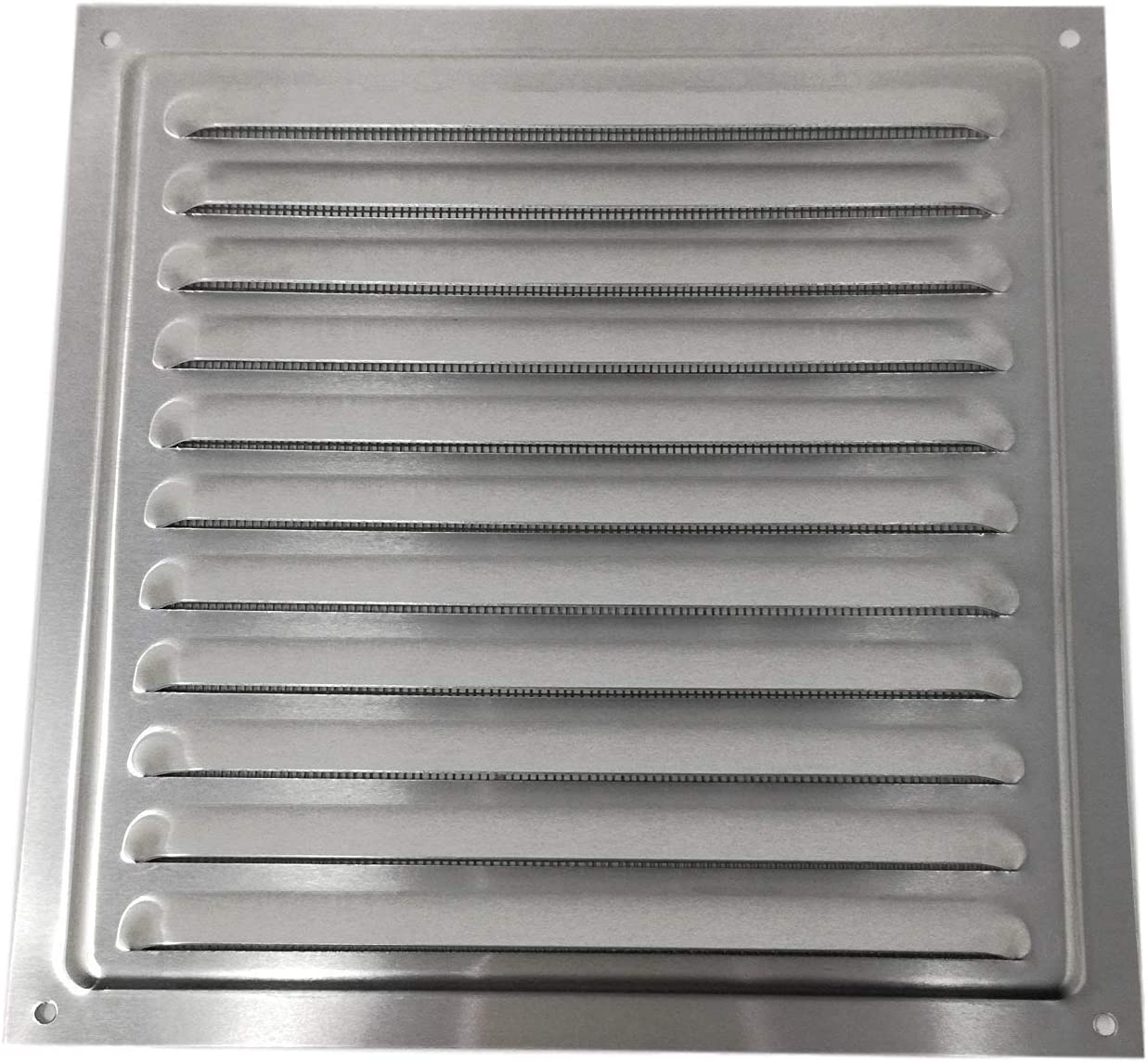 Metal Bug Net 300 x 300 mm Grill Air Vent Aluminium Rust Free with Mosquito