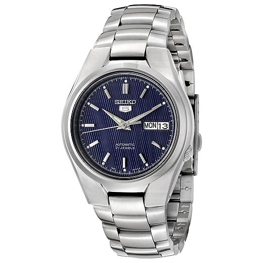 Amazon.com: Seiko De los hombres SNK603 – Reloj automático ...
