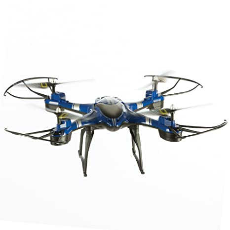 NATIONAL GEOGRAPHIC Quadcopter Drone - With Auto-Orientation and 1-Button  Take-Off for Easy Drone Flight - 360 Degree Flips - Altitude Hold - Great