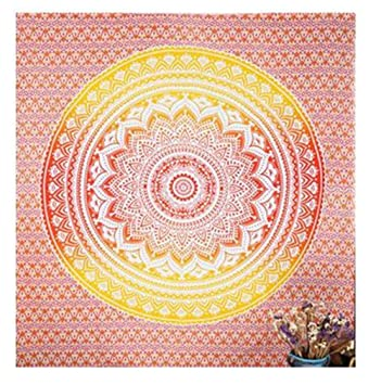 Indian Circle Tapestry Wall Hanging Home Décor Bohemian Blanket Tent Picnic Yoga