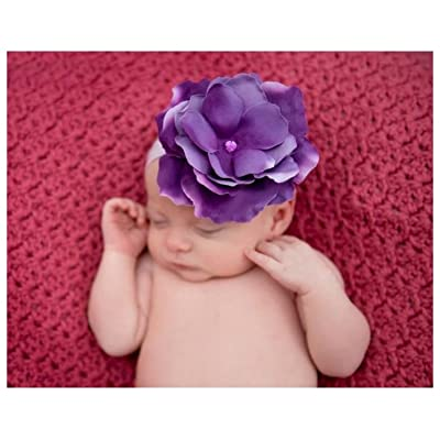 Lavender Flowerette Burst with Lavender Small Rose, Size: 4-12y