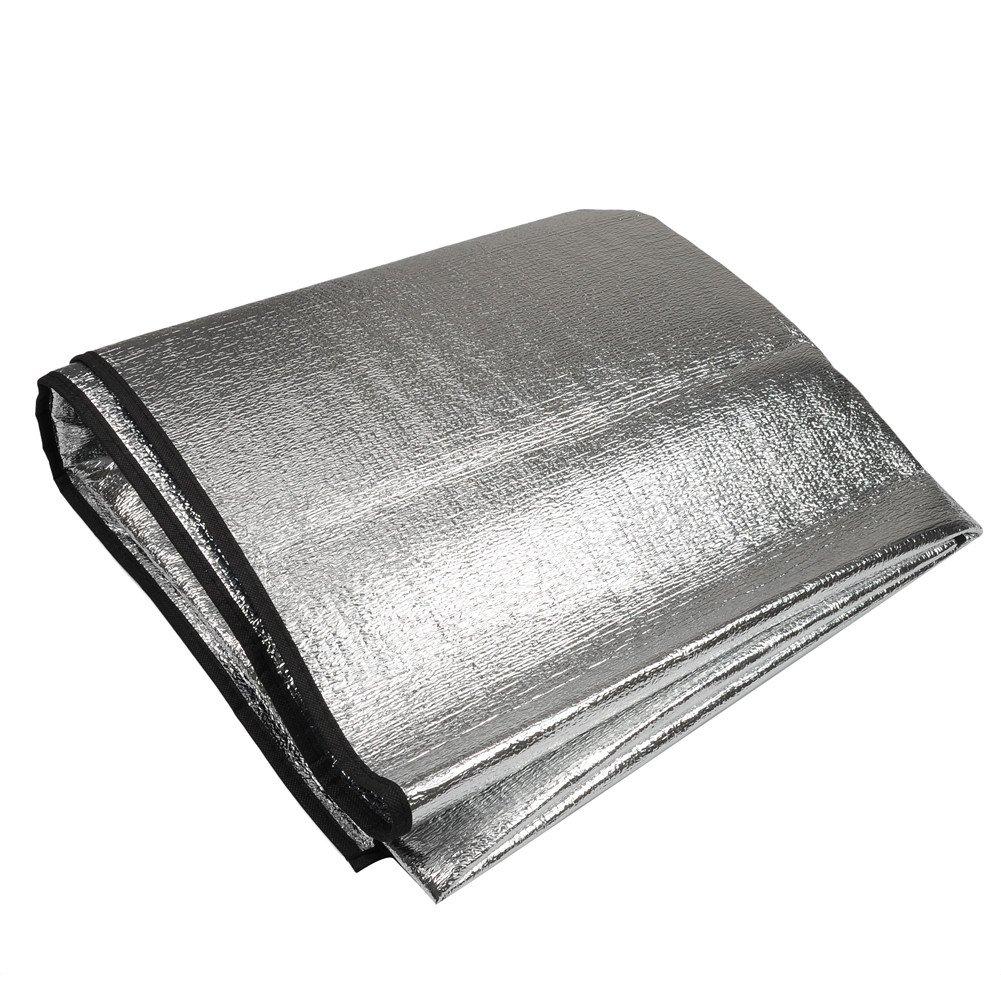 doppelseitig Folie Decke Pad f/ür Camping twinkbling Aluminium Picknick Matte Wasserdicht zusammenklappbar 200/x 150/cm