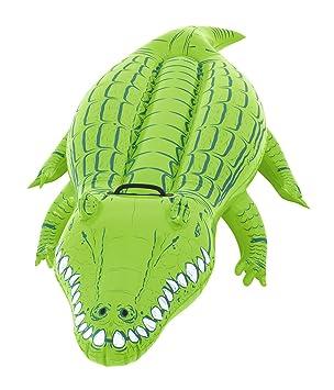 Intex Krokodil Schwimmtier Reittier 168cm X 86cm Aufblastiere