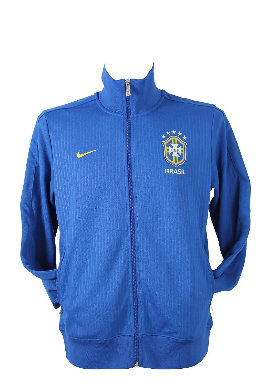 Nike – Sweat Shirt/Chaqueta/Jacket – Jacket Brasil, Azul (Azul ...