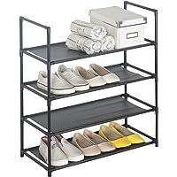 WOLTU Étagère à Chaussures, Rangement pour Chaussures, Gris, différents formats au Choix