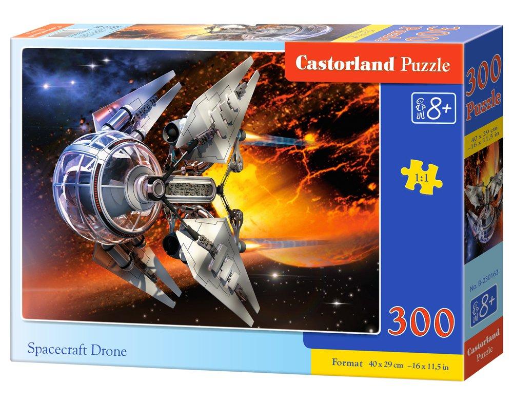 s Puzzle Rompecabezas, Espacio, Ni/ños y Adultos, Ni/ño//ni/ña, 8 a/ño CASTORLAND Planets and Their Moons 300 pcs Puzzle Rompecabezas , 400 mm