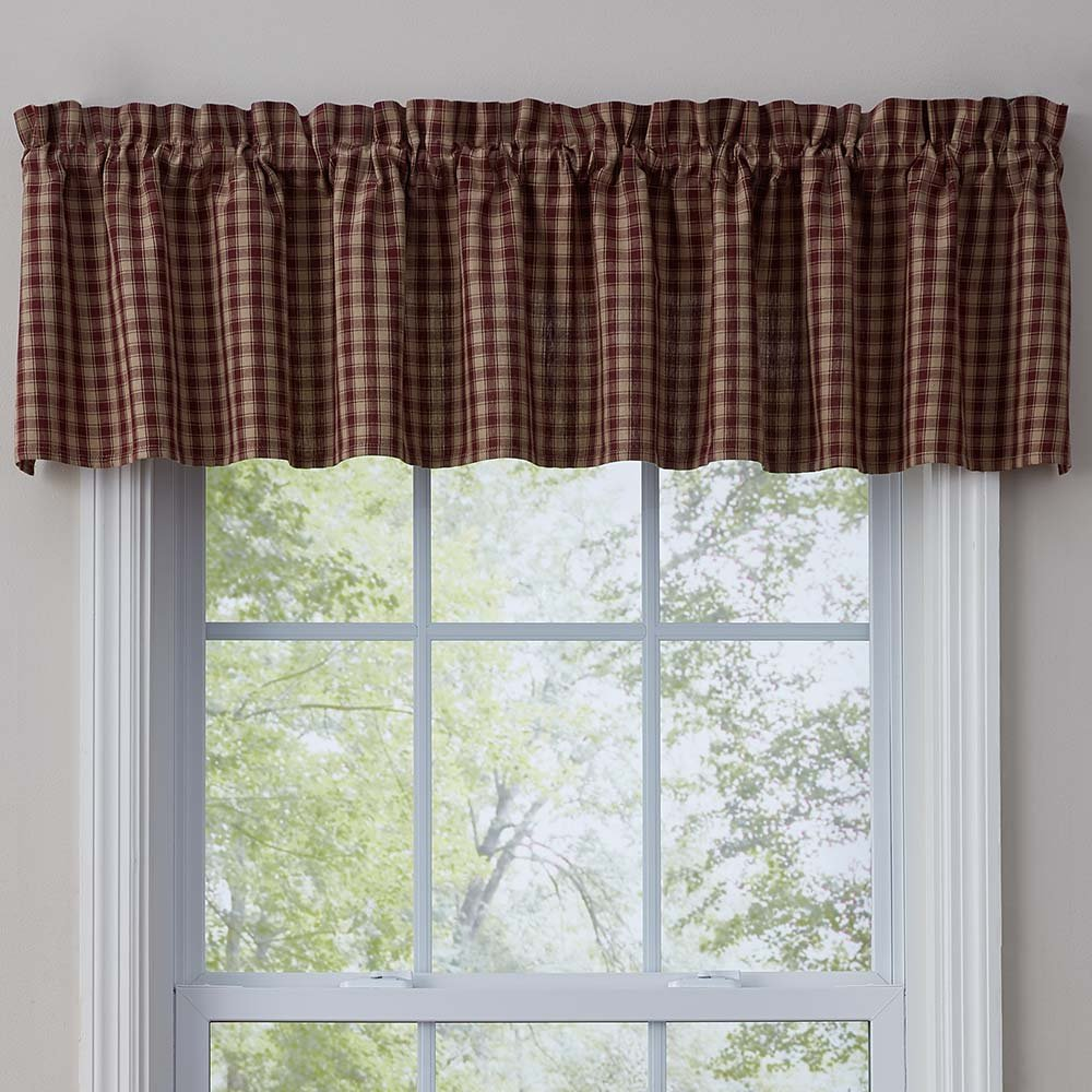 Park Designs Town and Country Wine Valance