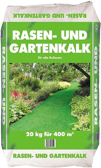 Césped de y jardín cal Saco de 20 kg: Amazon.es: Jardín