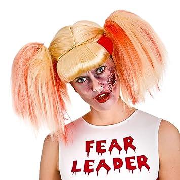 Zombie Punk Perücke zu Halloween