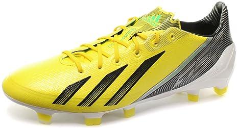 shades of temperament shoes super popular adidas F50 Adizero TRX FG miCoach Bundle Yellow L44749, Men ...