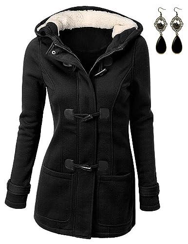 Sitengle Para Mujer Sudaderas con capucha Chaqueta Abrigo Casual Hoodie Camisetas de Mangas Largas P...
