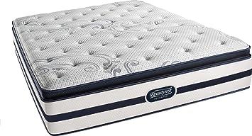 simmons plush mattress. beautyrest recharge simmons plush pillow top mattress, full mattress amazon.com