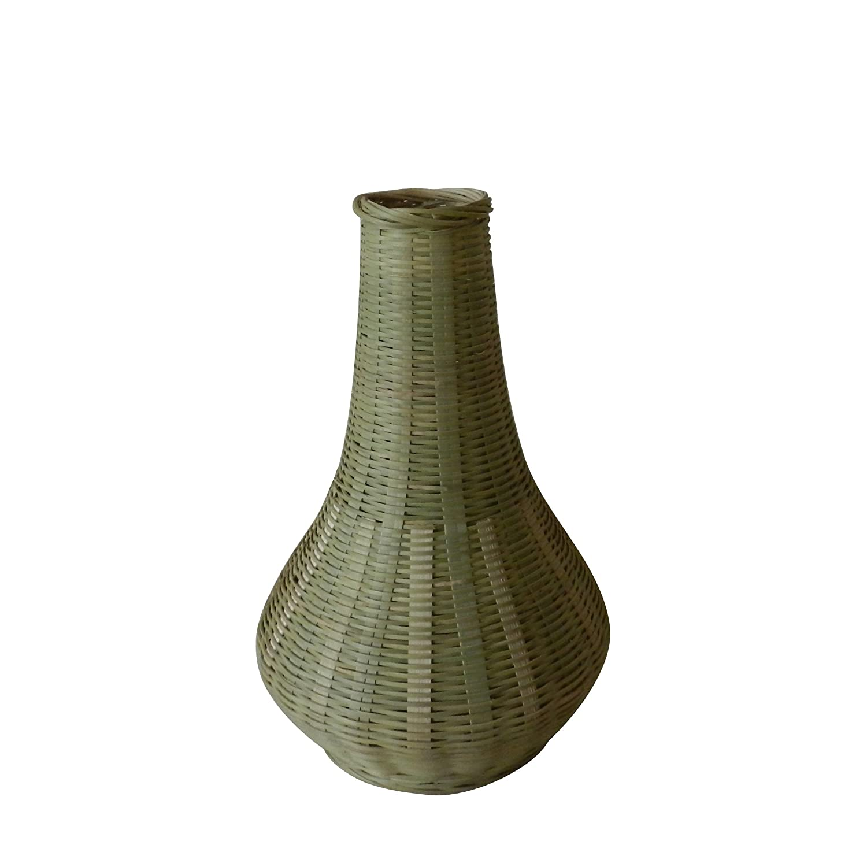 Elegante Textura Tejido de bambú
