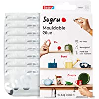 Sugru I000954 Multi-Purpose Glue for Creative Fixing and Making, 8-Pack, White, 8 Piece