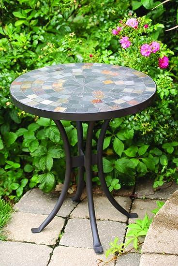 Amazon Com Outdoor Interiors Llc Mosaic Side Table