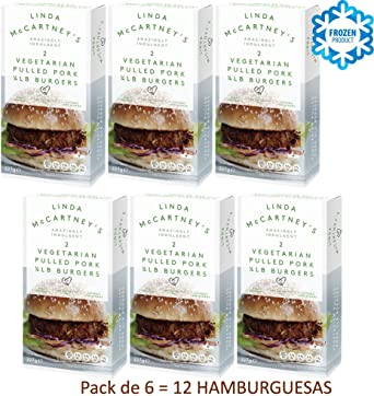 LINDA McCARTNEY Hamburguesas de Cerdo Tiradas Vegetarianas 1 ...