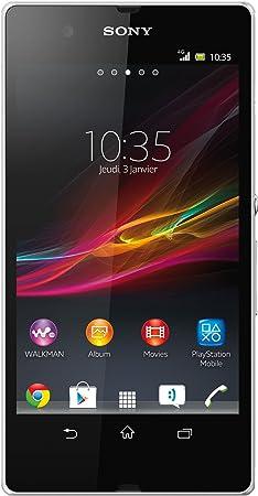 Sony Xperia Z - Smartphone libre (cámara de fotos de 13 Mpx ...