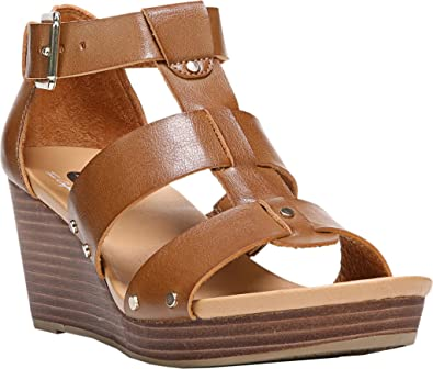 Dr. Scholl's Women's Beyond Wedge Sandal, Carmel, ...