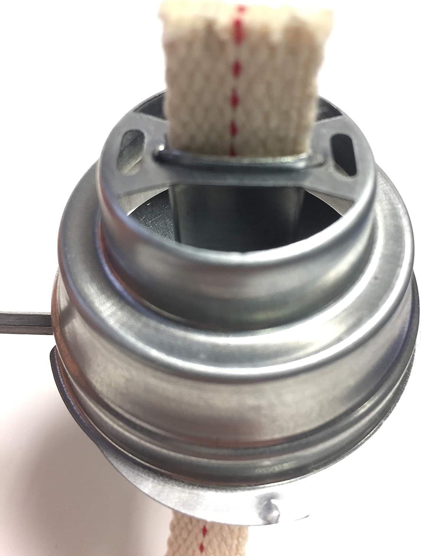 compatible avec feu main Lanterne temp/ête Lampe 275/ 100/X M/èche de remplacement coton 276/etc.