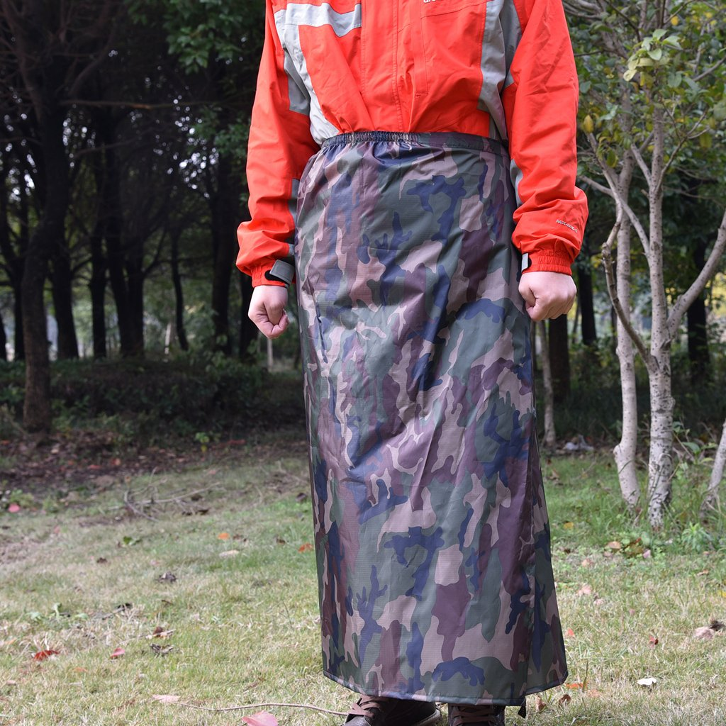 MagiDeal Multifunzione Pioggia Poncho Impermeabile Allaperto Copri Pioggia Zaino Grembiule Antipioggia per il Campeggio Unisex Escursionismo Caccia
