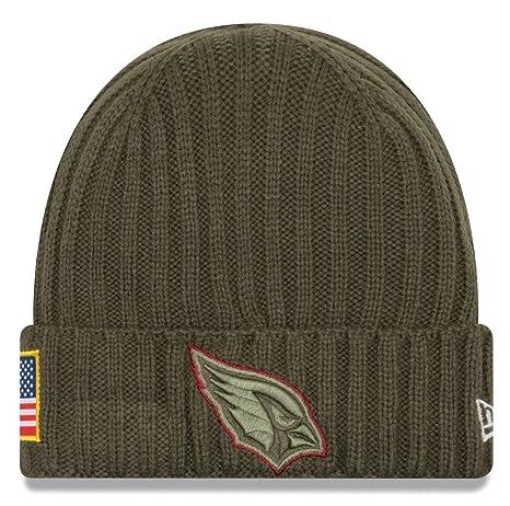 pretty nice 26d2b 1b2f8 Arizona Cardinals New Era 2017 NFL Sideline  quot Salute to Service quot   Knit Hat