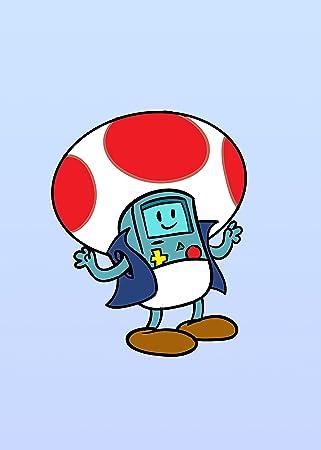 Amazoncom Plumbing Time Mushroom Robot Console Character Funny