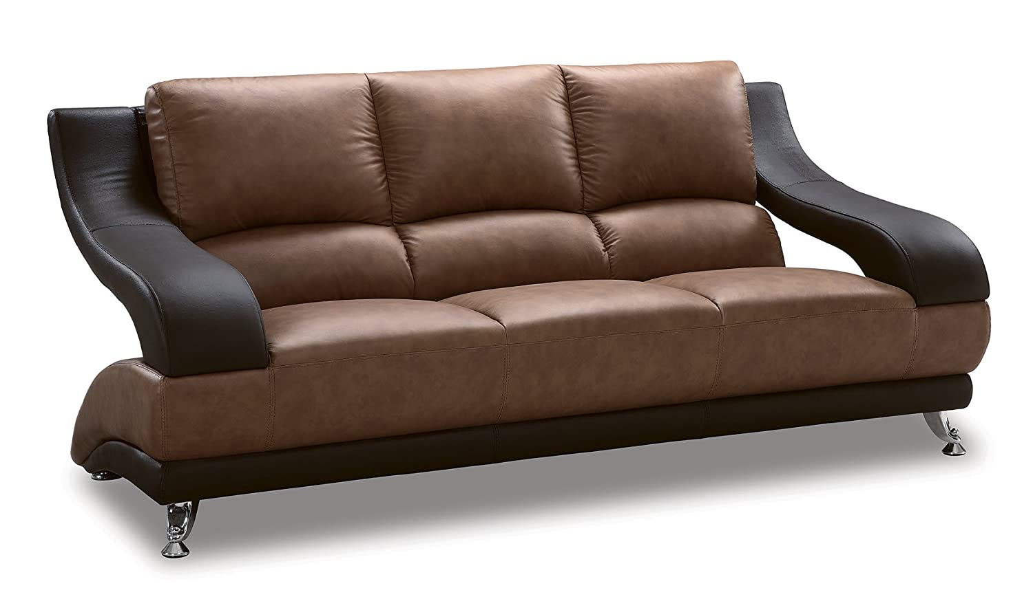 Amazon.com: Global Furniture Wyatt Collection Leather Matching ...