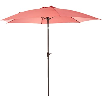 Basics JC010, Red Patio Umbrella-9-Foot : Garden & Outdoor