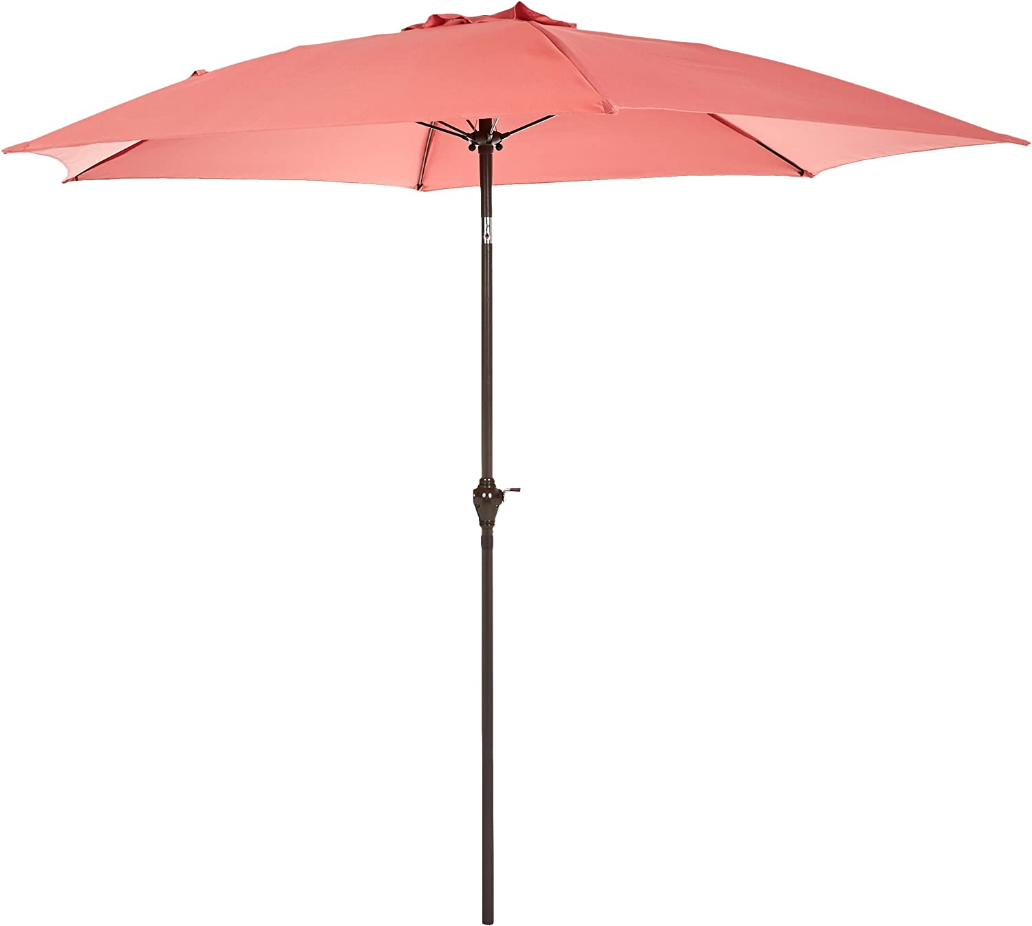 AmazonBasics JC010 Patio Umbrella-9-Foot, Red
