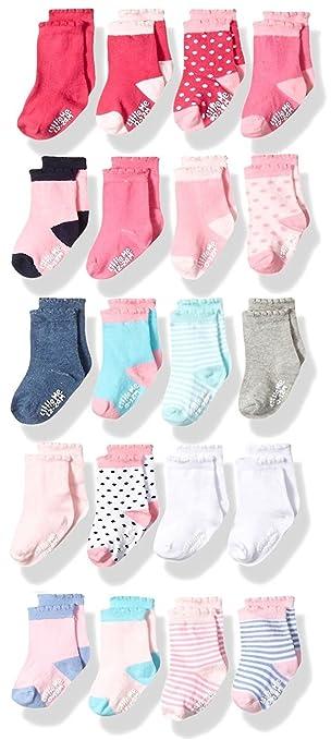 Amazon.com: Little Me 20 pares de calcetines unisex para ...
